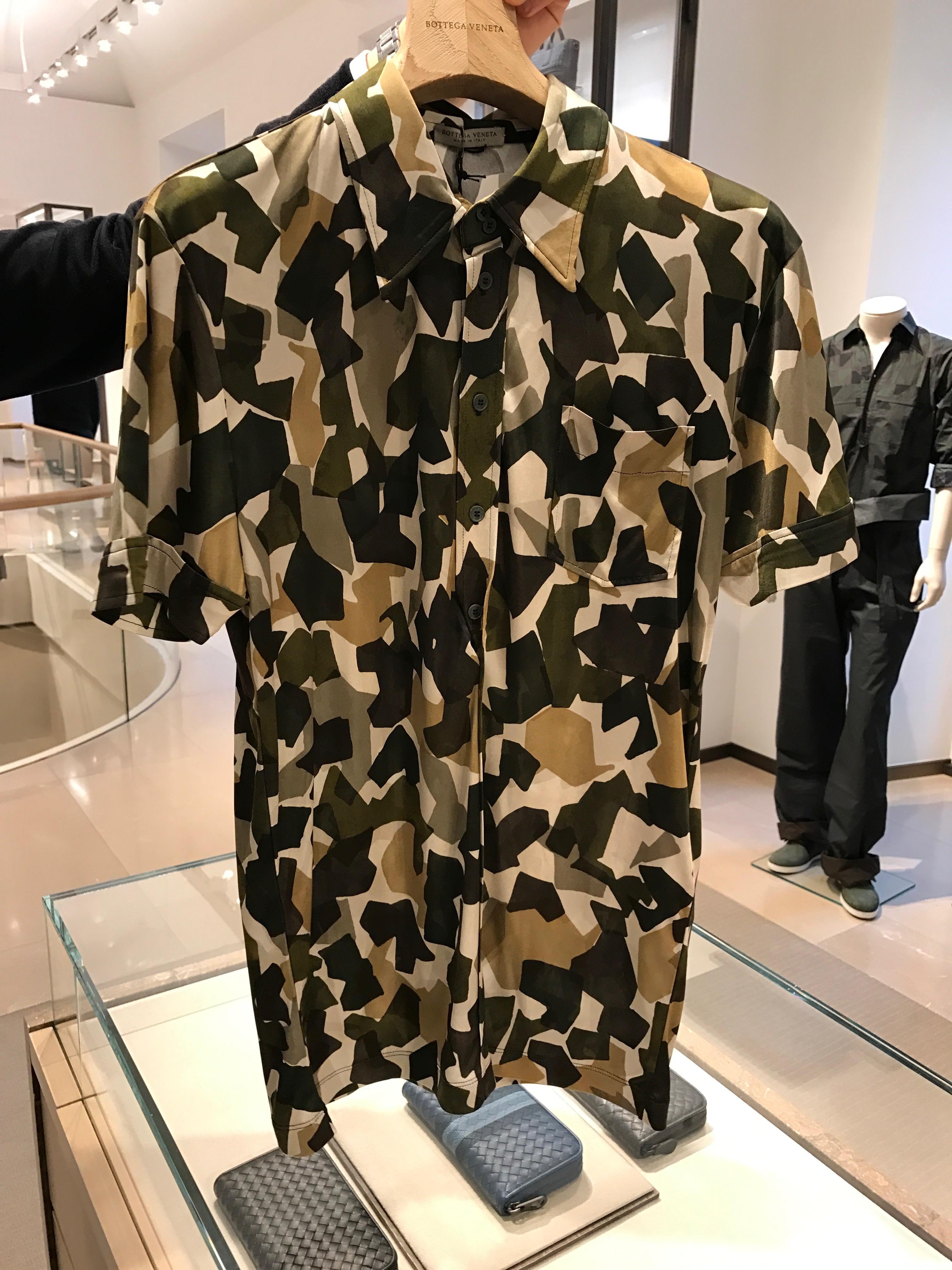 camouflage maglia