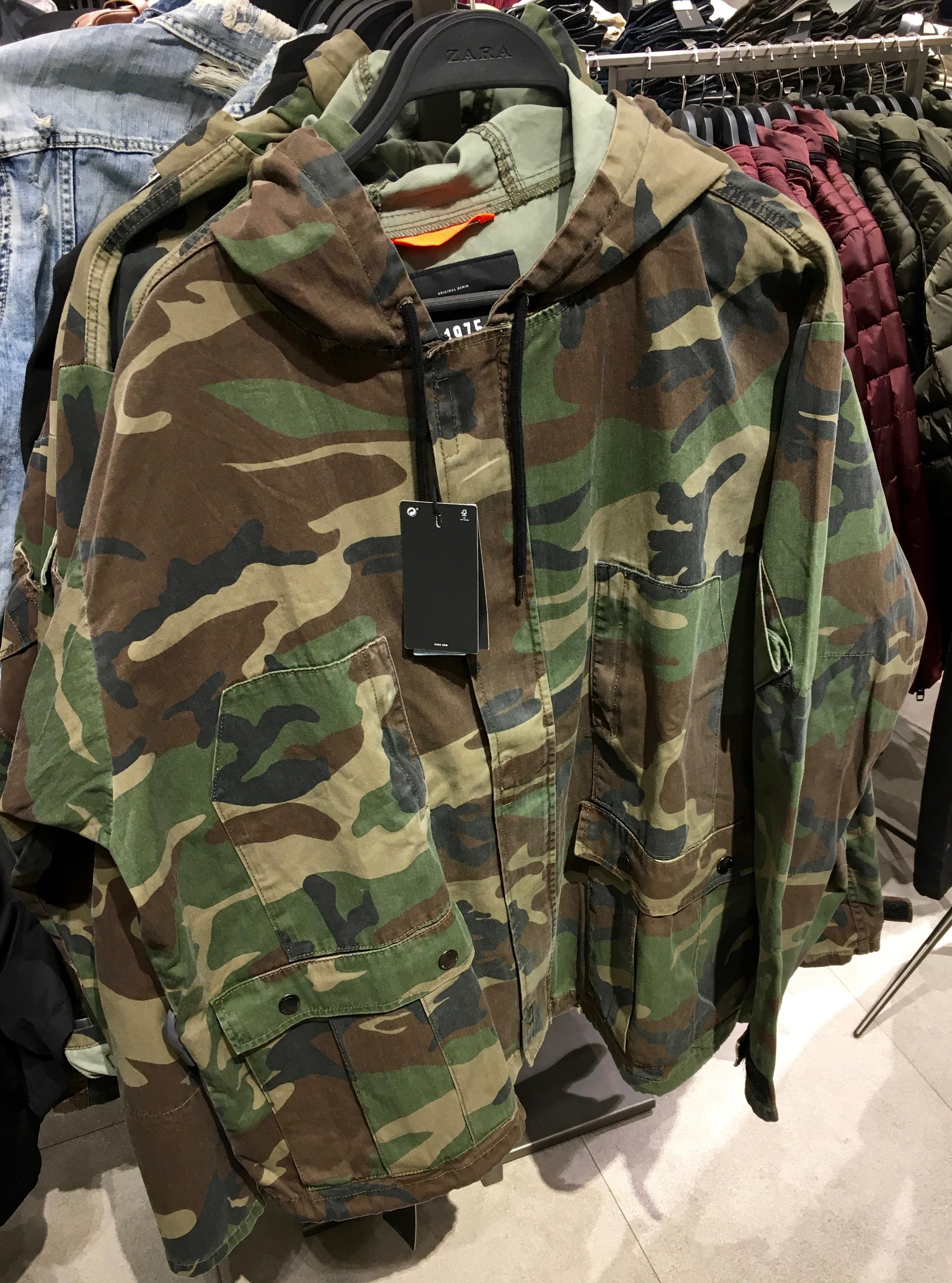 camouflage felpa