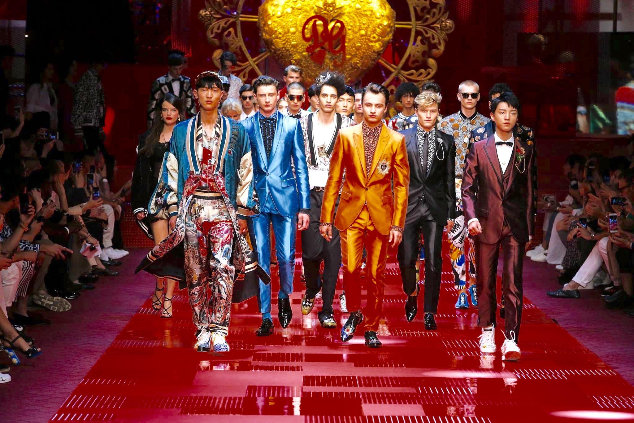 fashion week ss18 dg 1