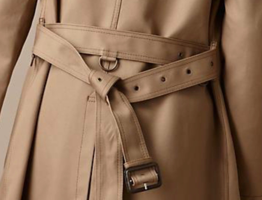 impermeabile trench a
