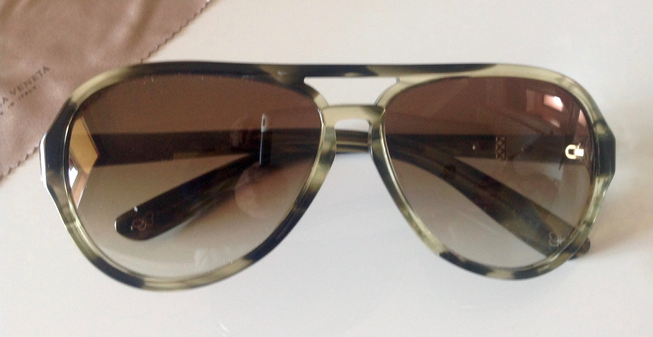 occhiali da sole sunglasses bottega veneta