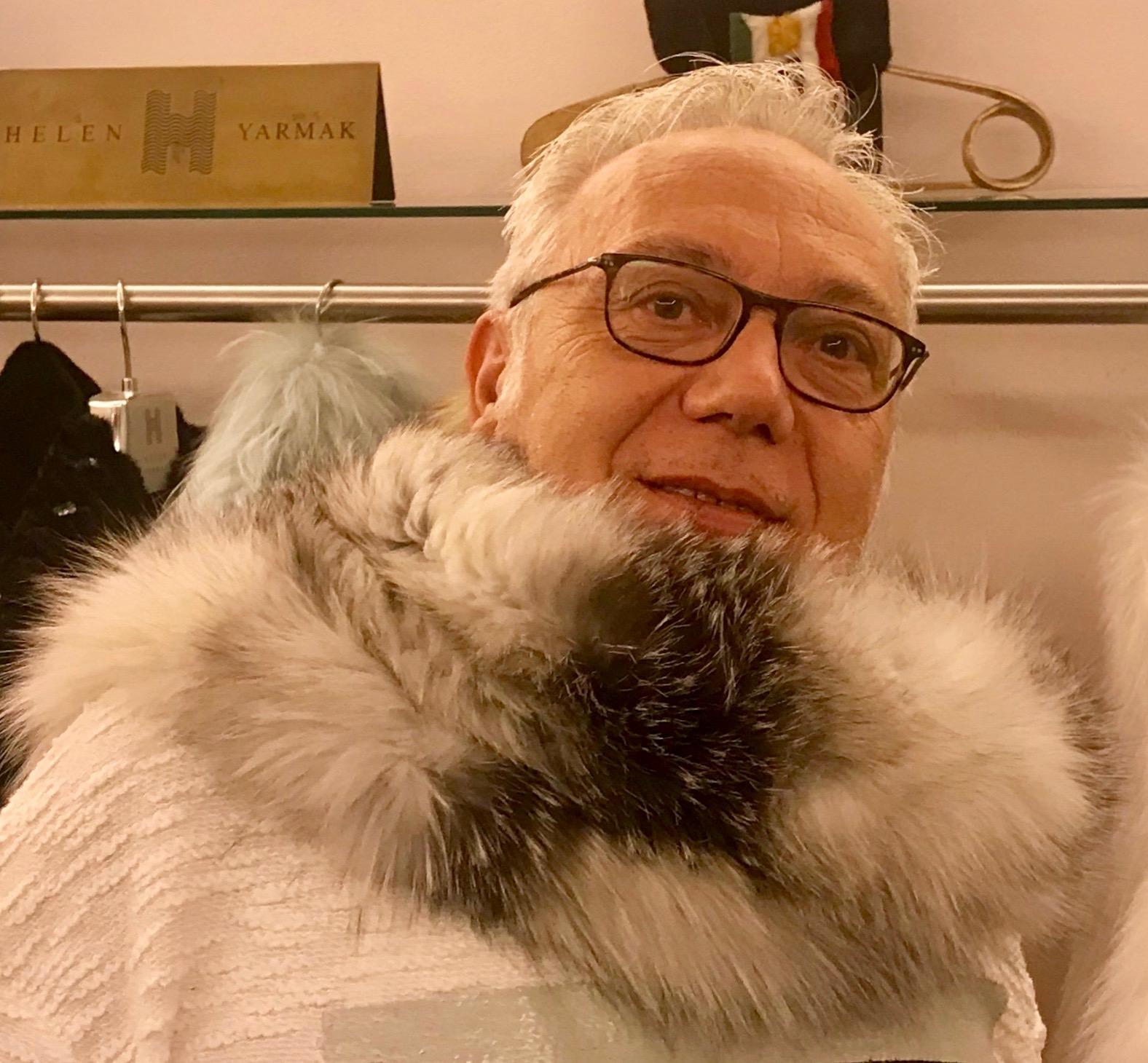 regali natale sciarpa pelliccia
