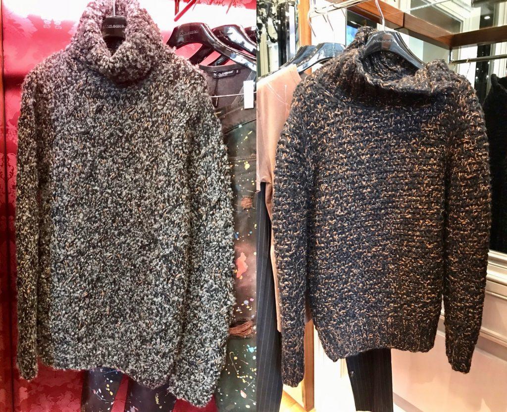 moda uomo invernale dolce&gabbana 1